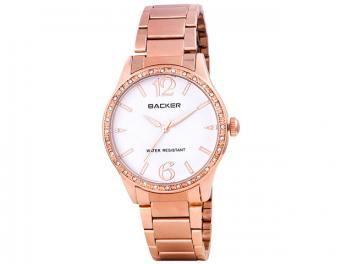 ada68477cd3 Relógio Feminino Backer 3061113F Analógico - Resistente à Água ...