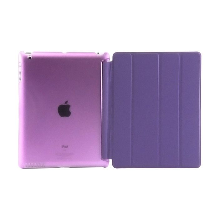 $8.99 (Buy here: http://appdeal.ru/73qg ) smart cover for iPad 2 iPad 3 iPad 4 case Microfiber Smart Case Original Cover For apple iPad 4 3 2 cases for just $8.99