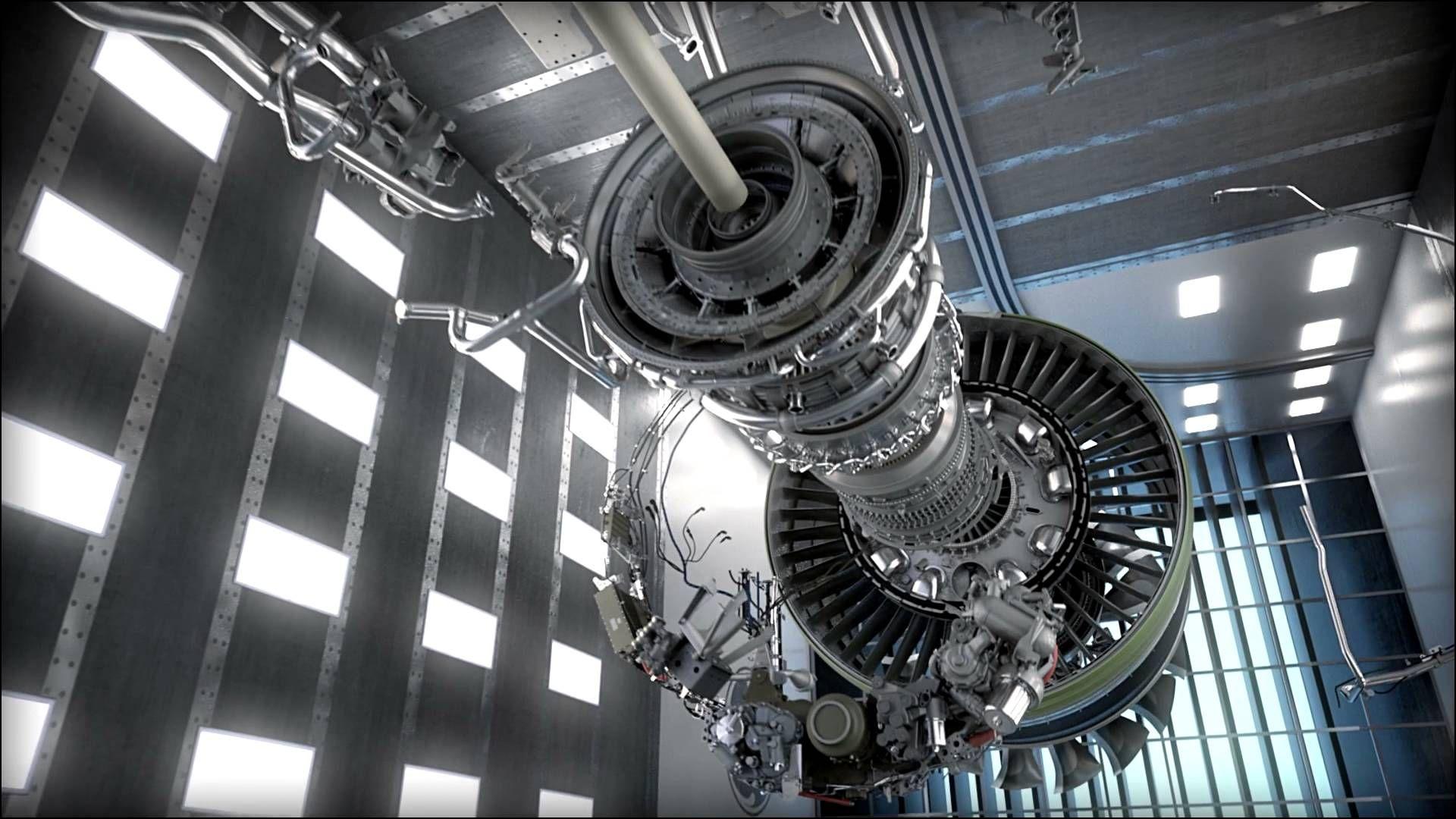 Este nuevo motor es tan grande que tiene el tamaño del fuselaje de ...