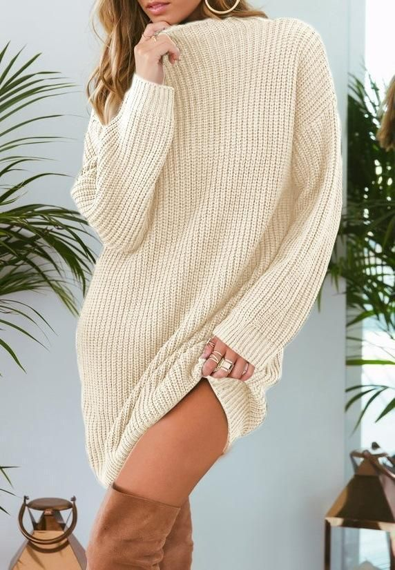 c0c049c8483262 2018 Autumn Winter Candy Color Long Loose Sweater