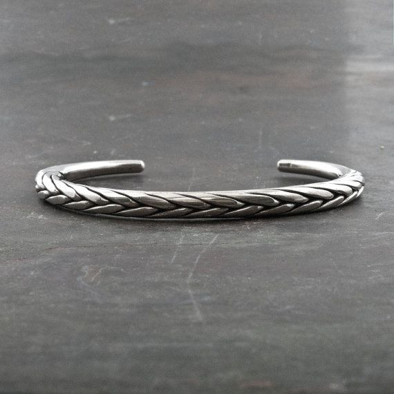 Sterling Silver Bracelet Men Women Bangle Bracelet Silver Braided Bracelet Men S Jewe Silver Braided Bracelet Simple Cuff Bracelet Sterling Silver Bracelets