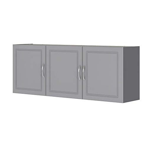 """Amazon.com: SystemBuild Kendall 54"""" Wall Cabinet, White ..."""