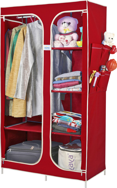 Durable And Sy Indian Made Portable Wardrobe With Two Year Warranty