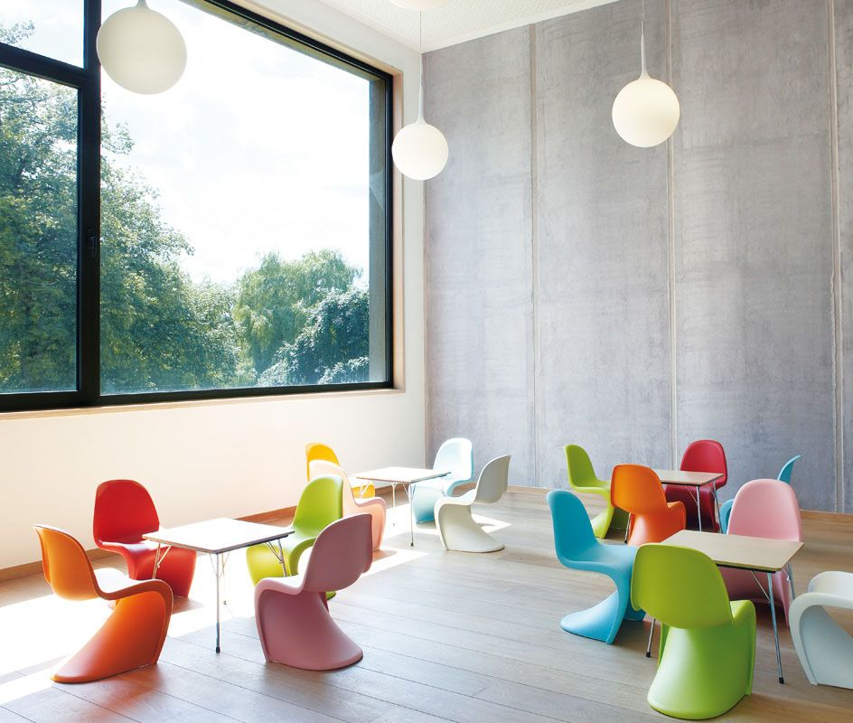 i really love these Vitra kids chairs Kids room Pinterest