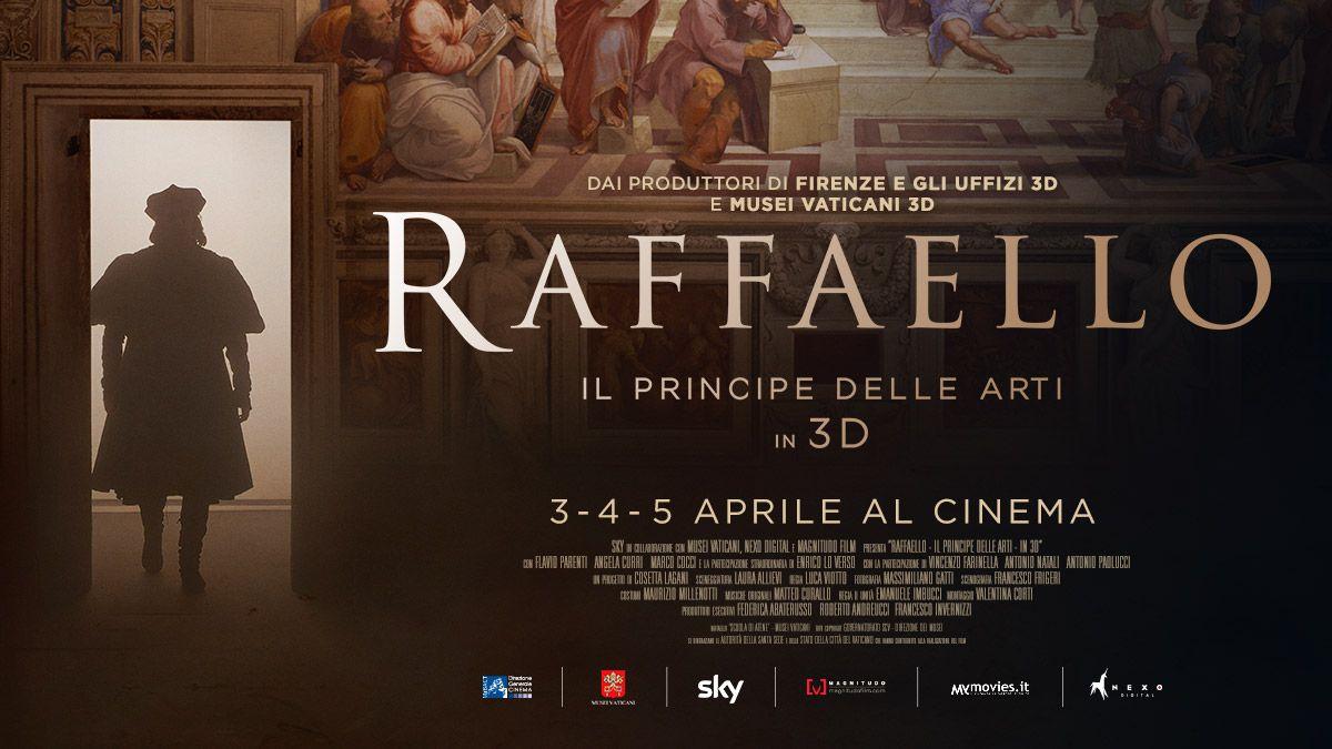 Raffaello – Il Principe delle Arti – in 3D