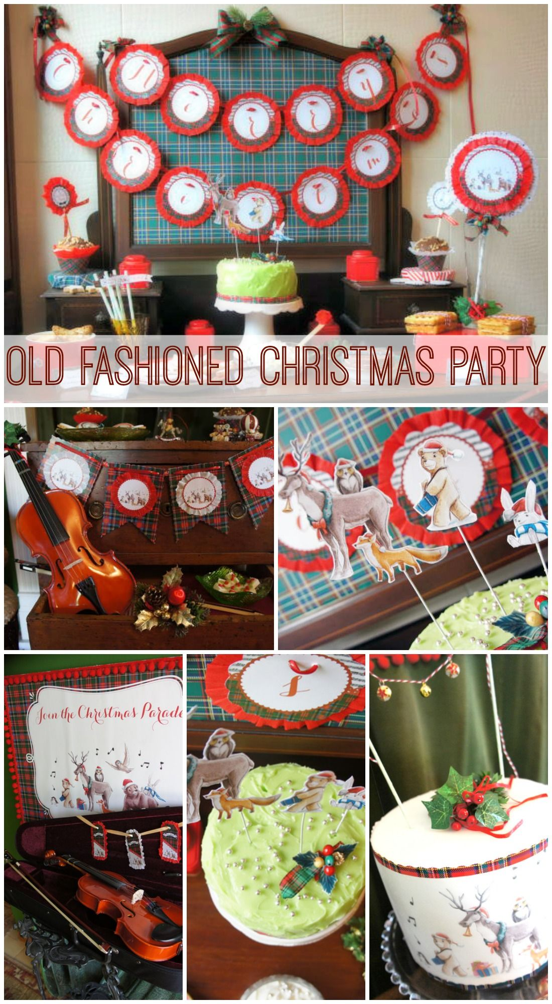 old fashioned christmas party ideas