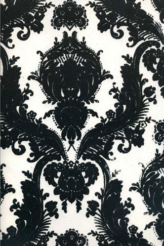 Pattern Flock 7031 Name Kelly Deco Velvet Flocked Wallpapers