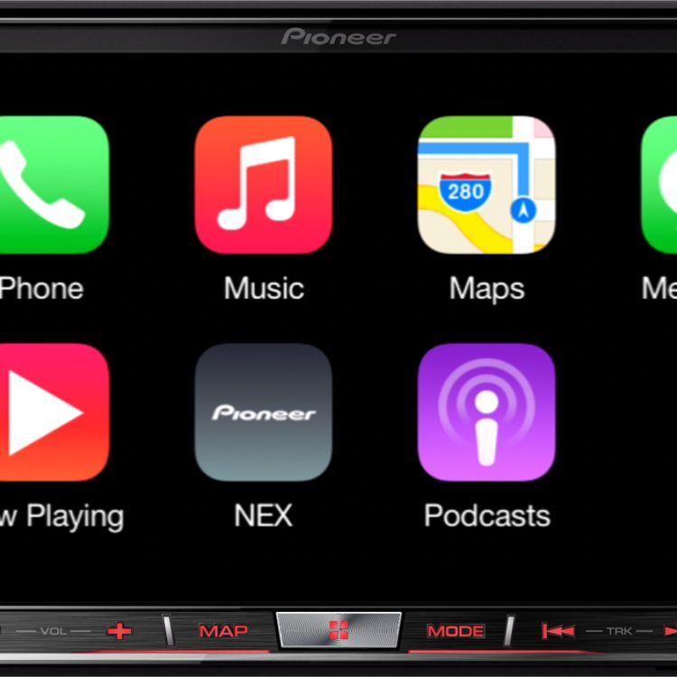 Pioneer's secondgen CarPlay NEX head units are now