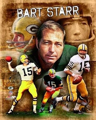 """BART STARR """"Green Bay Packers"""" LICENSED un-signed picture poster 8x10 photo"""