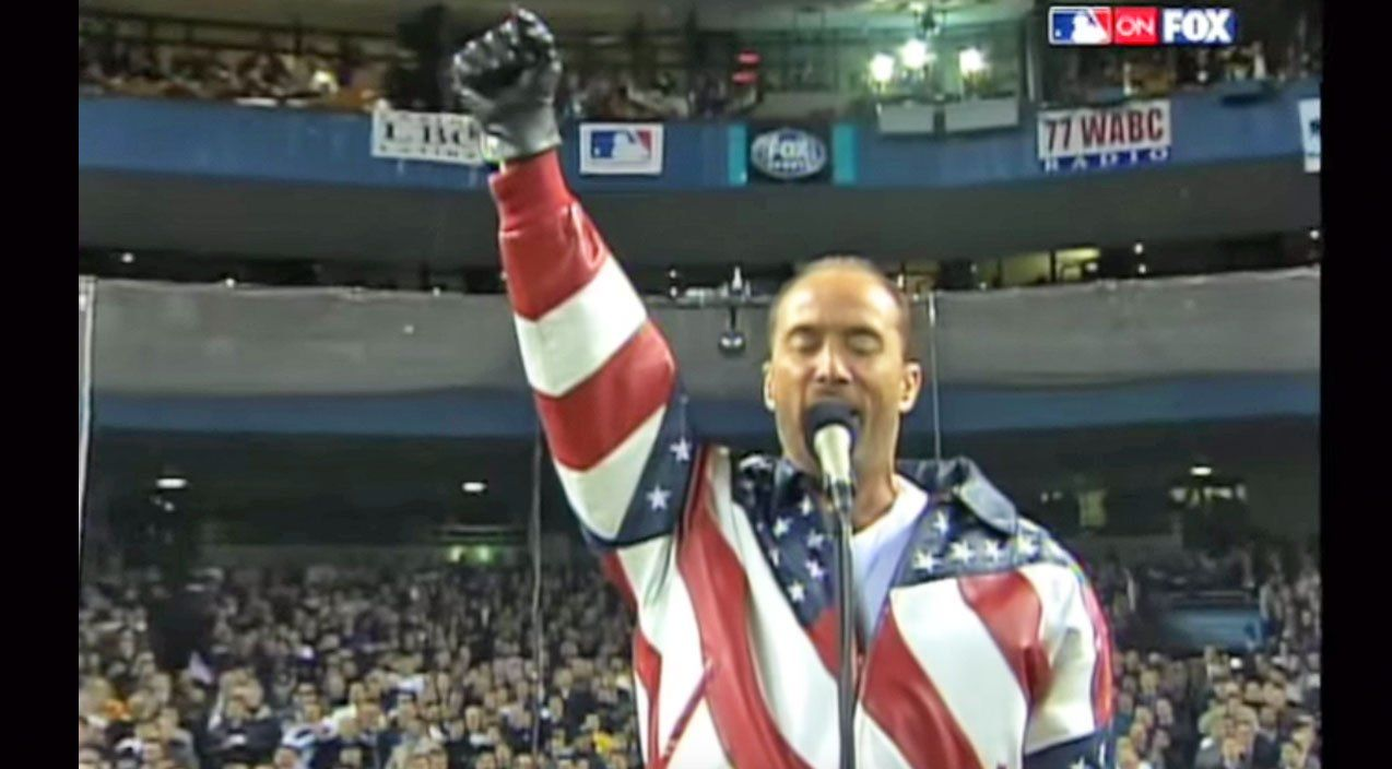 Lee Greenwood S God Bless The Usa Fills Yankee Stadium With Sound Lee Greenwood Greenwood Best Country Music