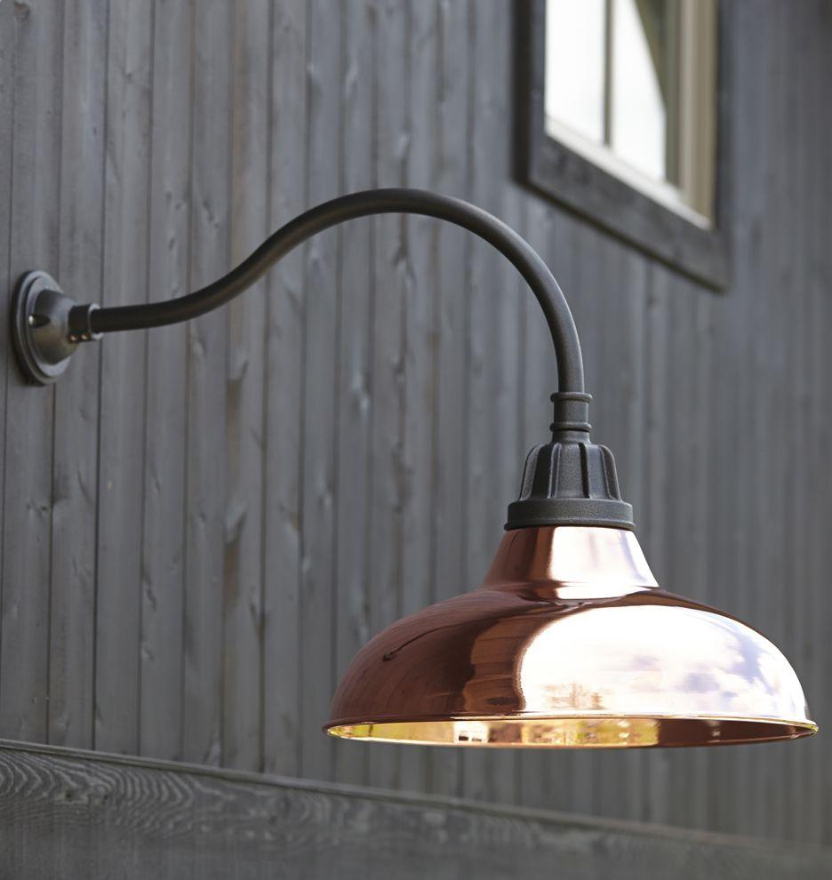 Carson Gooseneck Wall Sconce Outdoor Barn Lighting Barn Lighting Exterior Light Fixtures