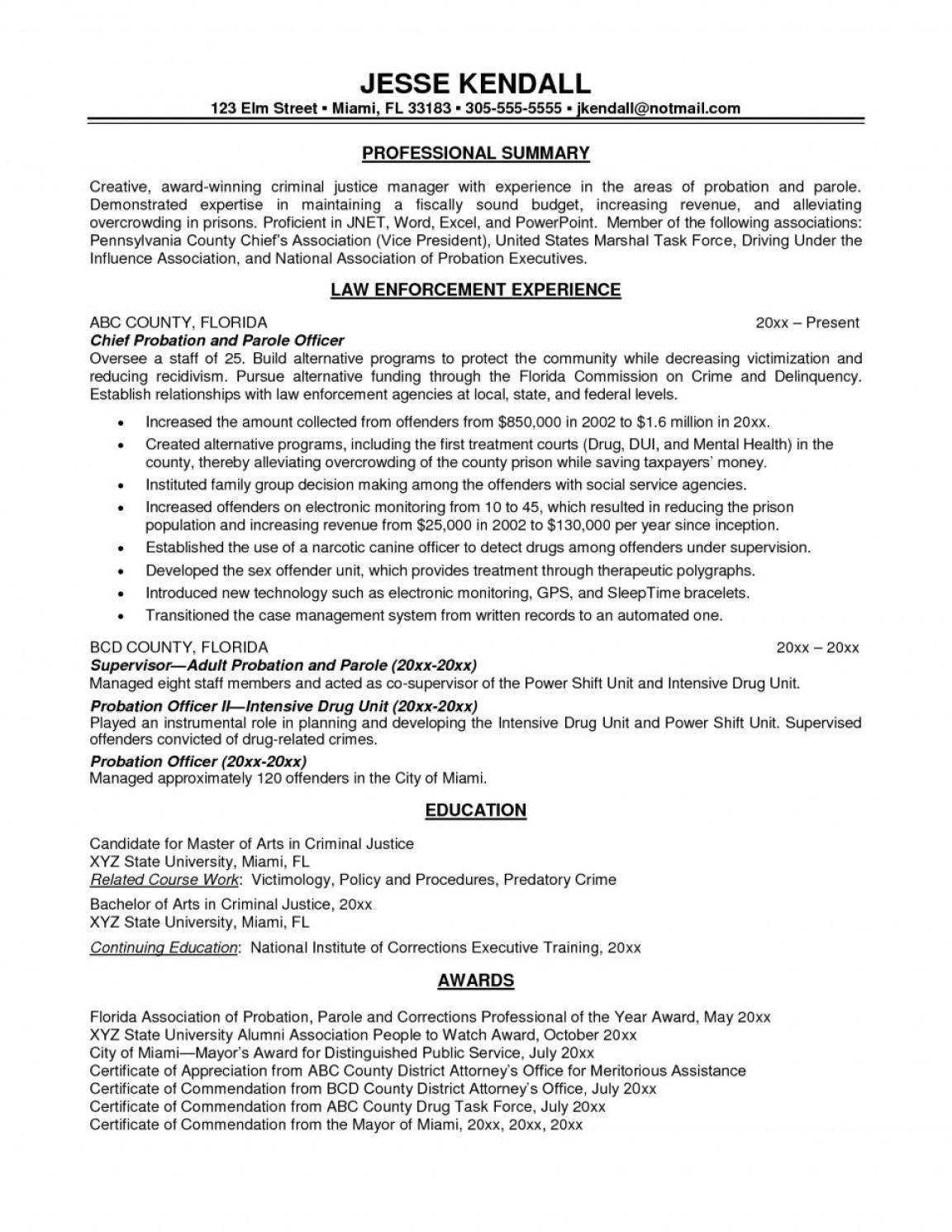 30 Correctional Officer Resume Objective in 2020 Resume