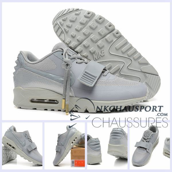 new style 18838 9d153 Nike Air Max 90 2016   Meilleur Chaussures Running Homme Grise