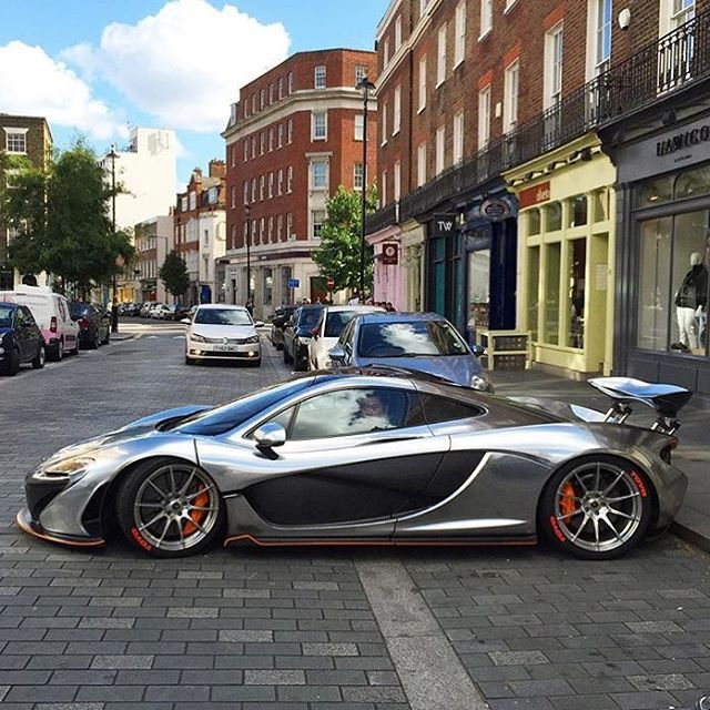Chrome P1. This Is One Good Looking McLaren • Pic