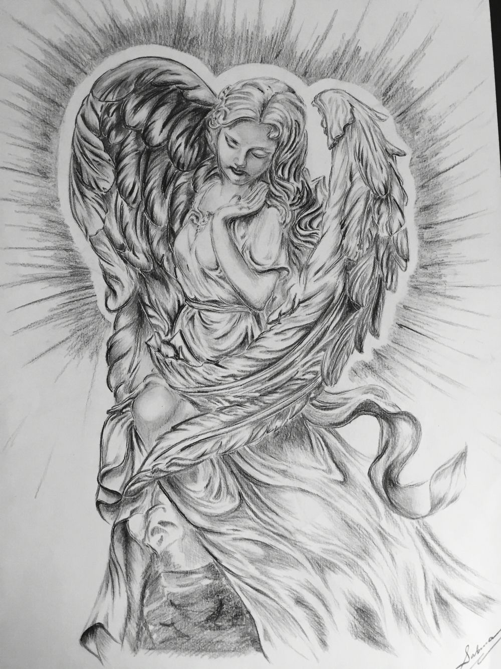 Изображение ангела картинки тату