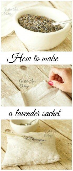 Lavender Scented Sachet Pillow