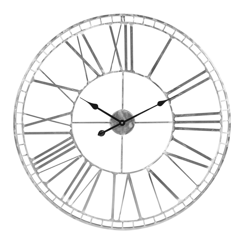 Shiny Silver Clock