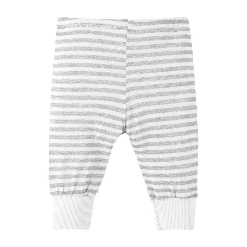 Heathered Stripe Legging, Modern White #stripedleggings