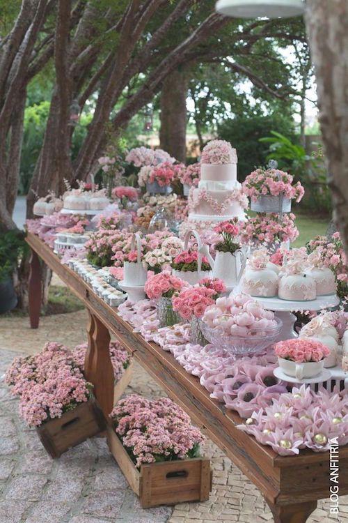 Mesas de dulces para bodas ideas para dessert table and bar - Mesa de dulces para boda ...