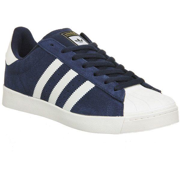 Adidas Superstar Vulc Adv   Black adidas shoes, Rose gold adidas ...