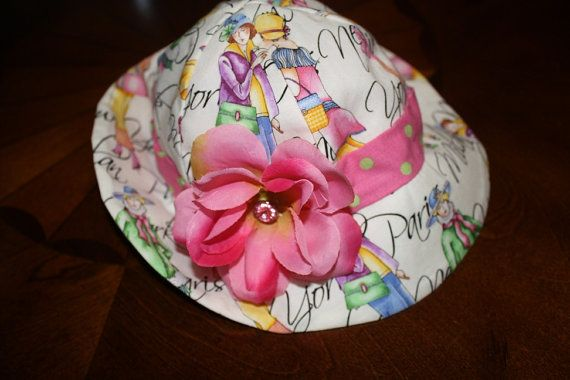 SALE 850 Flower Hat by amosmom on Etsy, $8.50