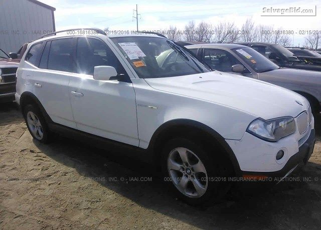 2007 Bmw X3 On Online Auction By March 25 2016 Bmw X3 Bmw