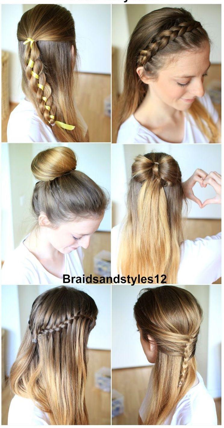Epingle Sur Coiffure Cheveux Long