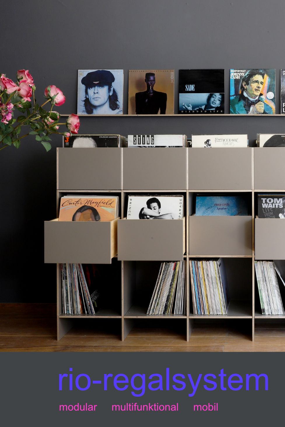 Super Lp Regal Schallplatten Regal Lp Regal Plattenregal