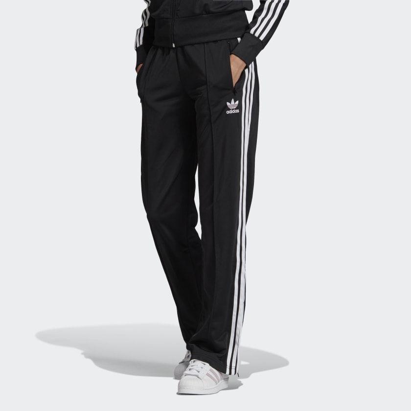 Adidas Firebird Track Pants Black Adidas Us In 2020 Track Pants Women Black Adidas Tracksuit Bottoms