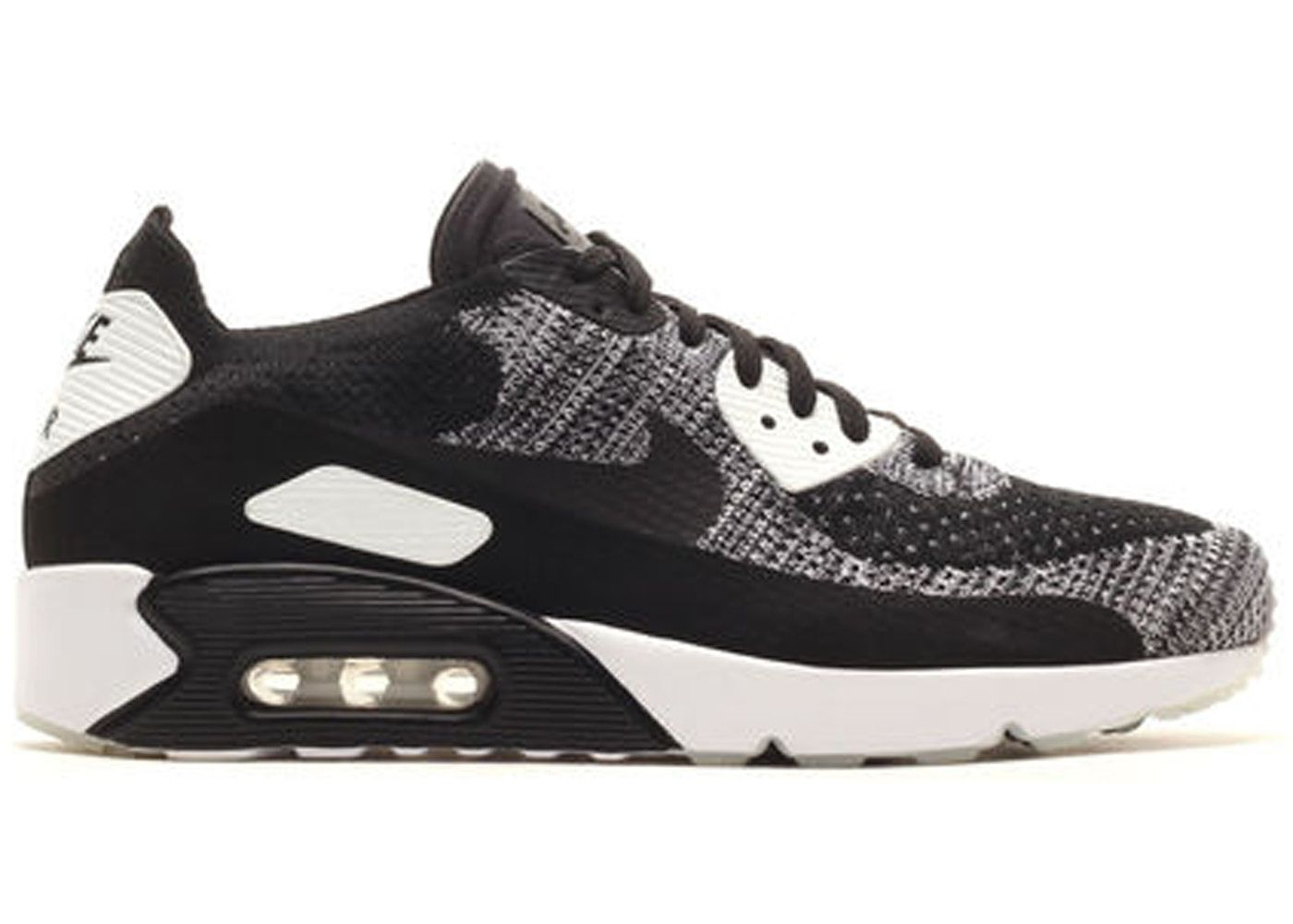 Check out the Air Max 90 Ultra Flyknit 2.0 Oreo available on StockX ... 7d92f3e54