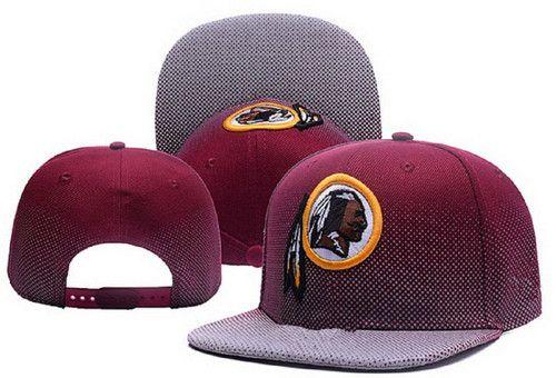 NFL Mens Washington Redskins Flatbrim Cap  727f1826569