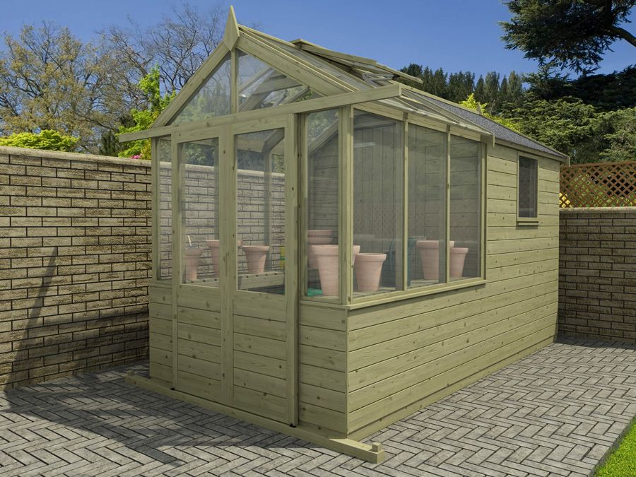 Our new Greenhouse/Shed combo range Greenhouse shed