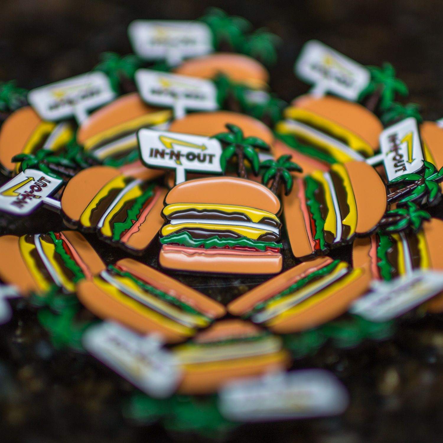 Soft Enamel In-n-Out Pin - $9.99 !