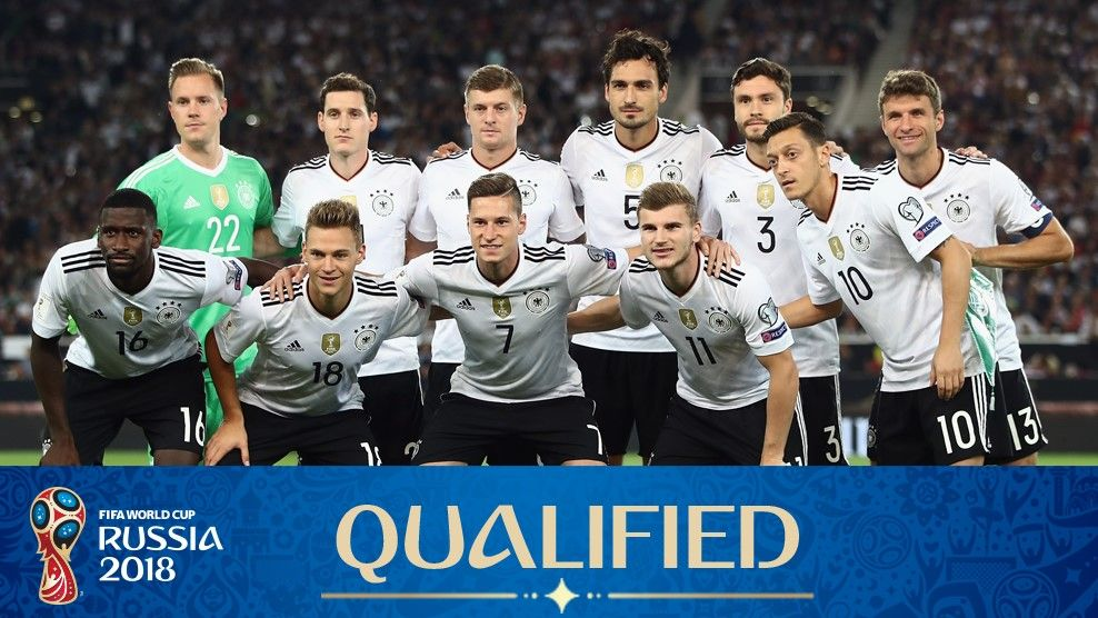 Germany Football Team Squad Fifa World Cup 2018 Russia Fifaworldcup Fifa2018 2018fifaworldcup Germany Team World Cup 2018 Teams Germany Football Team