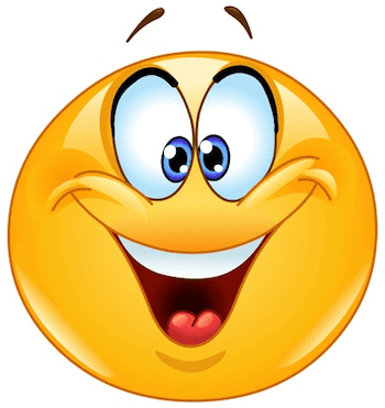 If You Get A Surprise Gift From Someone Then Your Reaction Would Be Just Like This Smiley In 2020 Happy Emoticon Smiley Funny Emoticons