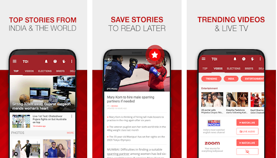 News by The Times of India Newspaper v5.2.2.0 Ad Free Apk