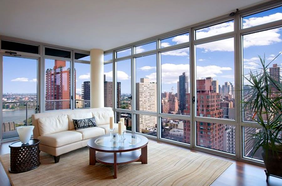 Housing Elite In Skyscraper Buildings With Satisfy Facilities New York Find This Pin And More On Living Room Ideas