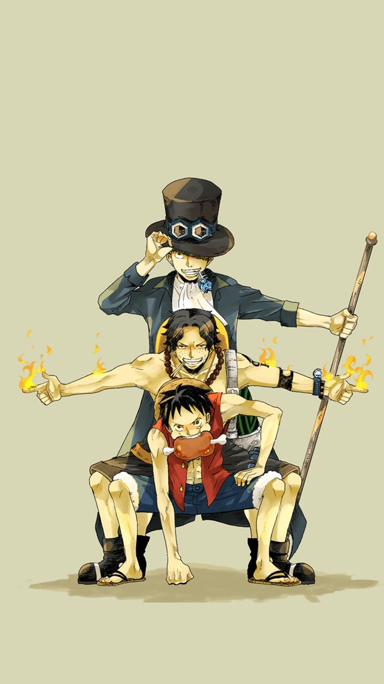 Check Out This Wallpaper For Your Iphone Http Zedge Net W10708622 Src Ios V 2 5 Via Zedge One Piece Ace Ace And Luffy One Piece Luffy