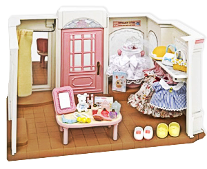 Sylvanian families calico critters fancy clothing boutique calico critters pinterest - Westling muebles ...