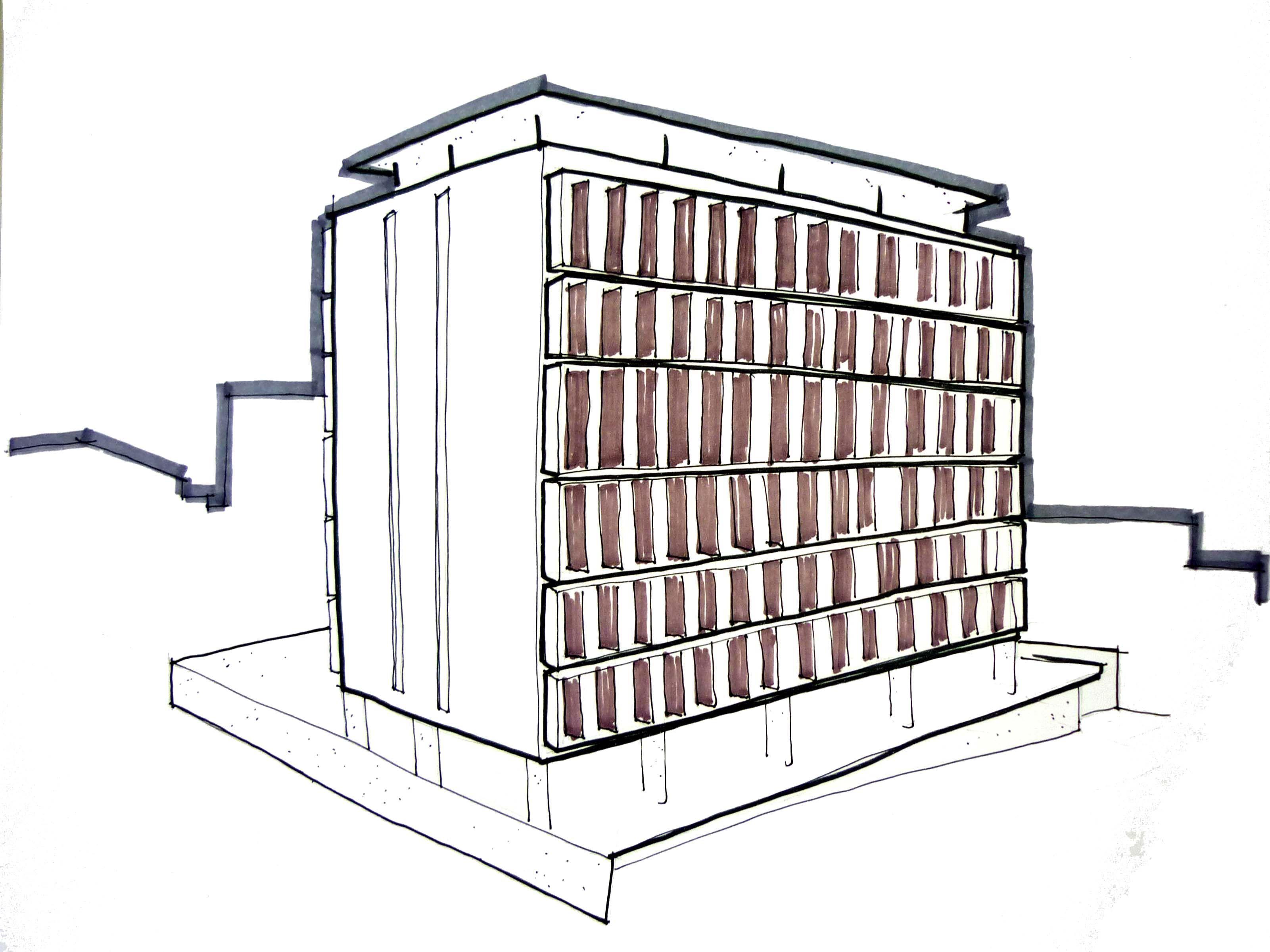 Edifício Residencial - Projeto de Arquitetura 4