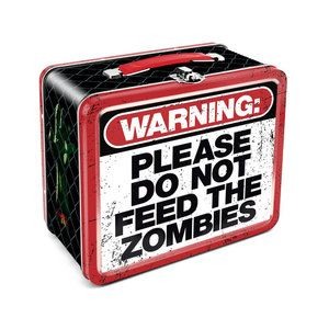 NMR Distribution Zombie Warning Lunch Box