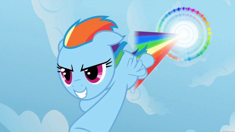 Sonic Rainboom Yay Rainbow Dash My Little Pony Friendship My