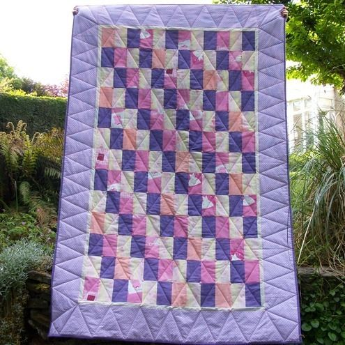 One For the Girls! Single Bed Quilt £123.00 by Quilting Demon