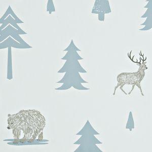 LittleChoux.com - Into the Wild Wallpaper - Grey
