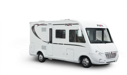 Camping car compact Pilote Intégral G600L