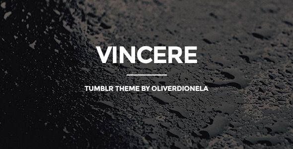 Download Free Vincere Business Tumblr Theme # blog #business