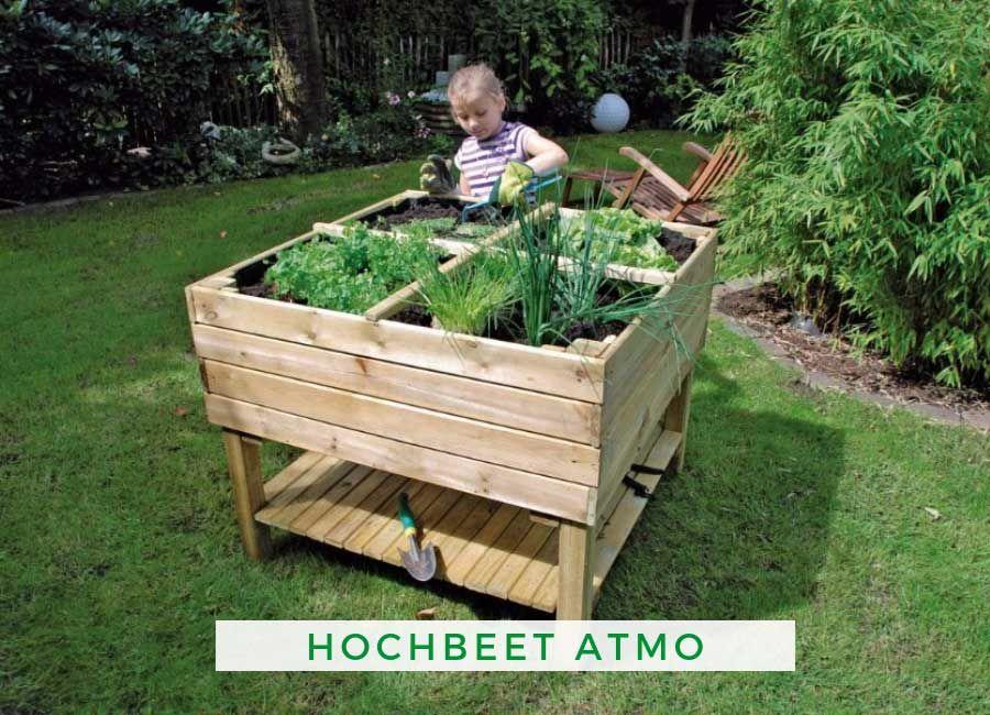Alpholz Atmo Kräuterhochbeet Hochbeet, Hochbeet bauen