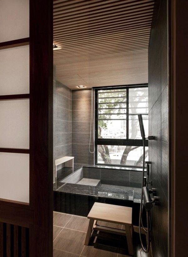Modern minimalist interior design style Japanese