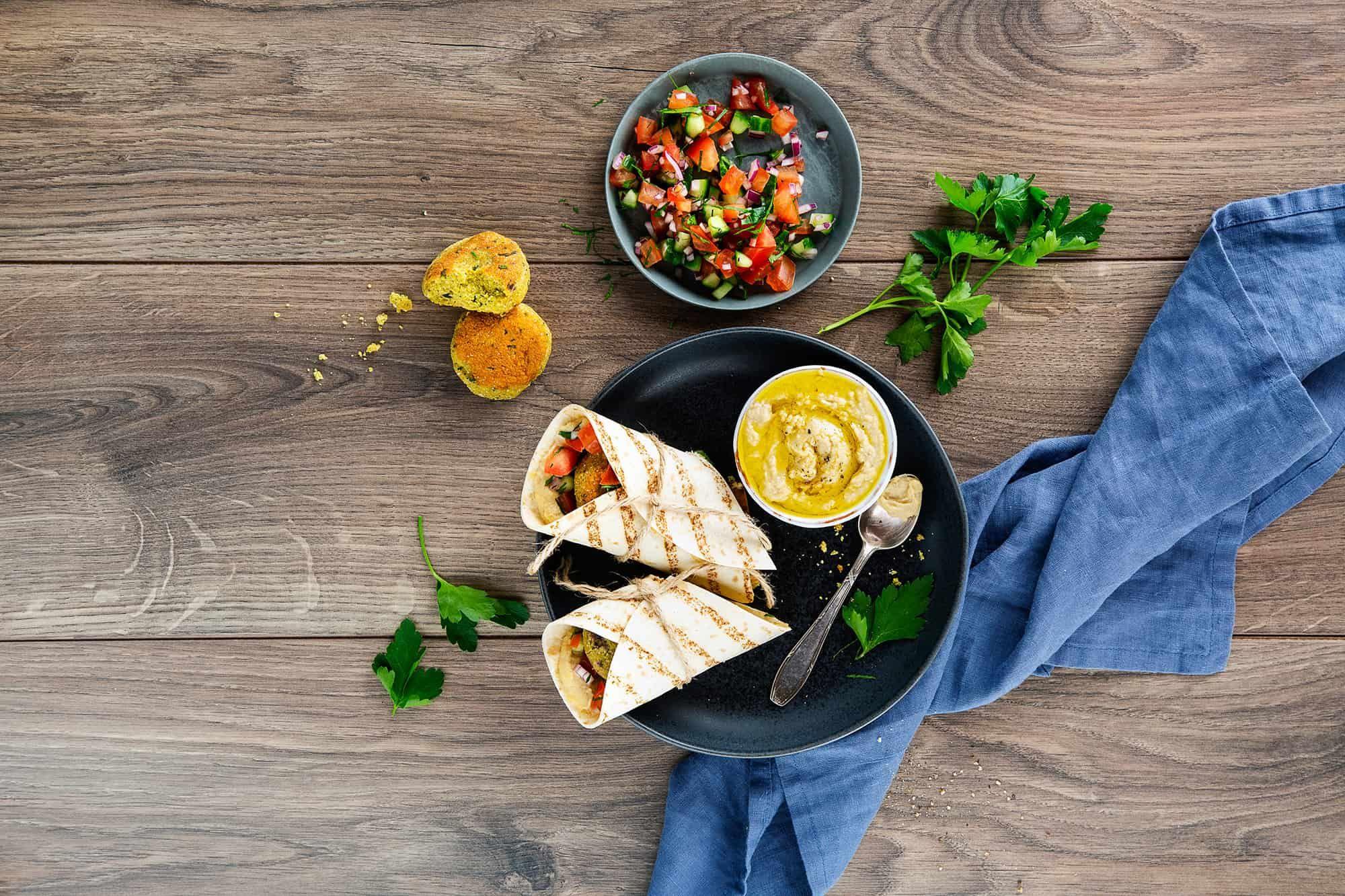 Falafel-Wraps - das allerbeste Rezept, das es gibt   Foodio