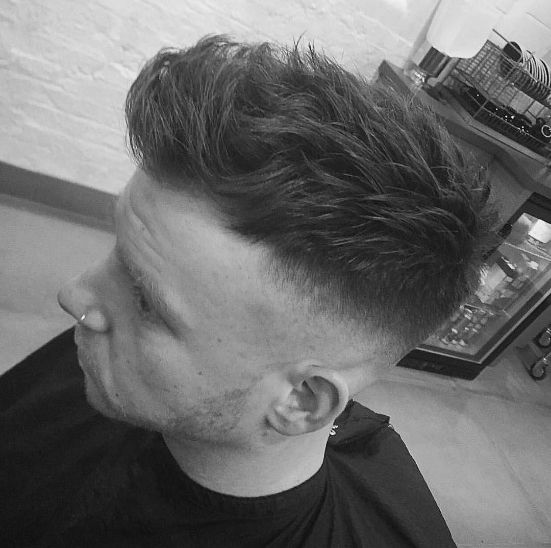 Fade & texture by Joe @bstyledleicester #barber #barbershop #mens #mensgrooming #mensfashion #menstyle #hair #haircut #leicester by bstyledleicester